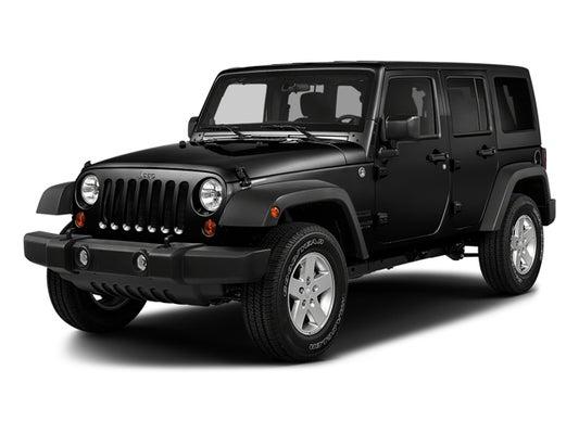 2017 Jeep Wrangler Unlimited S Wheeler In Grand Blanc Mi Al Serra Auto Plaza